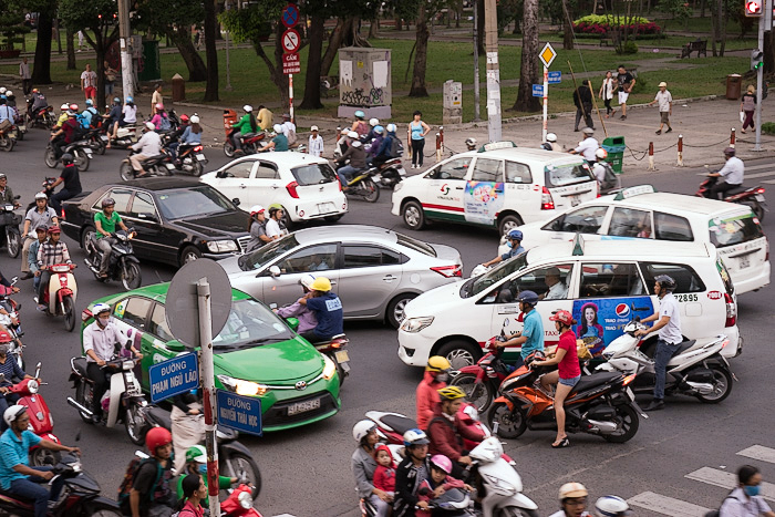 Insane Traffic Saigon