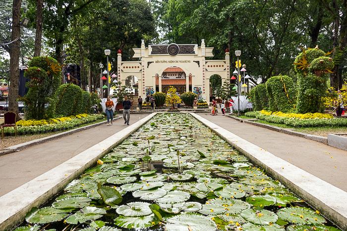 Tao Dan Park During Tet – Saigon For 91 Days