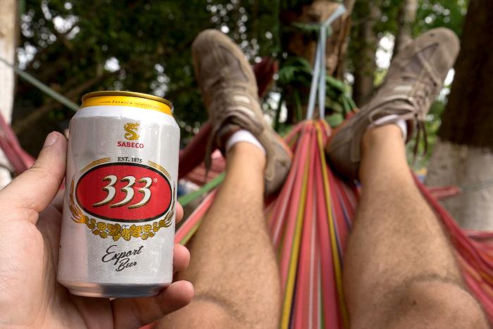 Ba Ba Ba Vietnamese Beer
