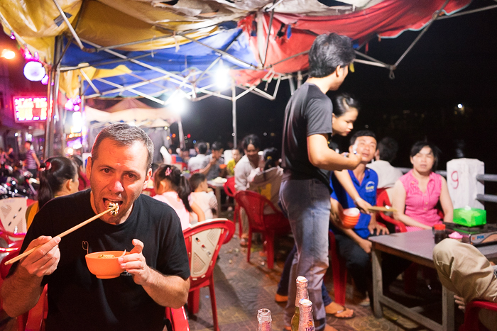 Eating Lau In Vietnam