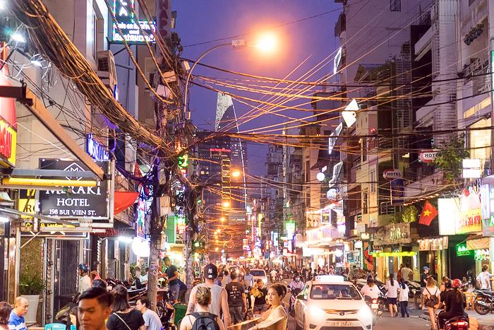 Backpacker District Saigon
