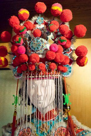 Vietnam Woman Head Decoration
