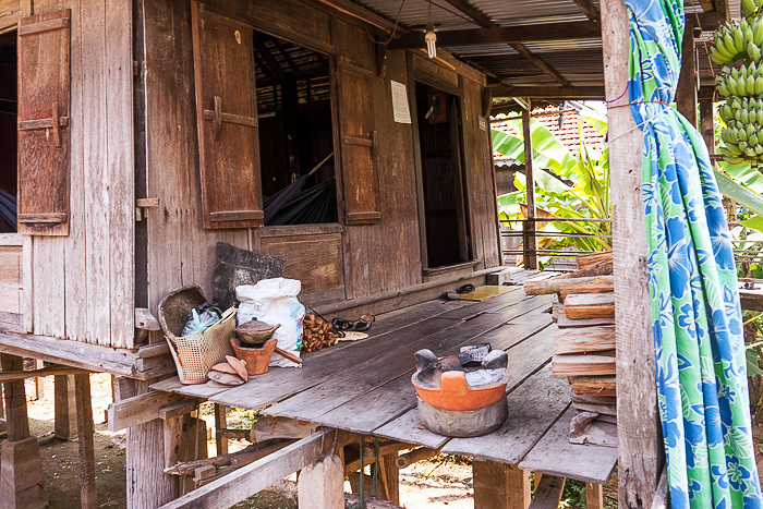 Cham Stilt Houses