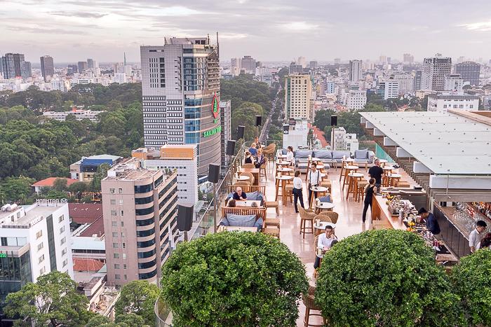 Shri Hotel Rooftop Ho Chi Minh