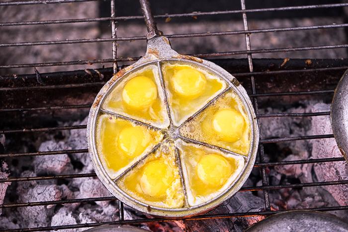 Trung Cut Nuong Quail Egg
