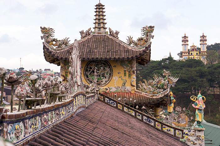 Mosaic Pagoda Dalat