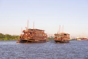 Saigon boat